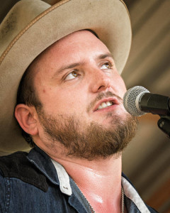 Paul Cauthen performing in Luckenbach - 2