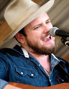 Paul Cauthen performing in Luckenbach - 1