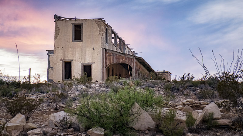 Mansion - Terlingua Texas