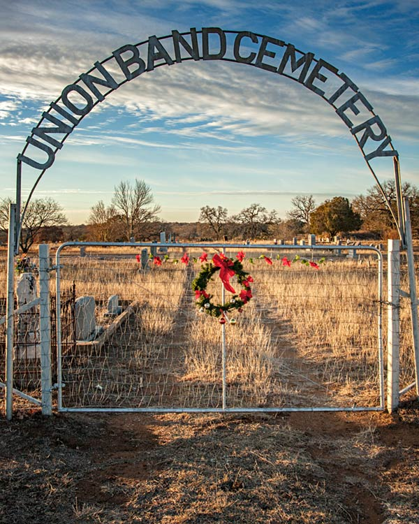 Union Band Cemetery Gate No1