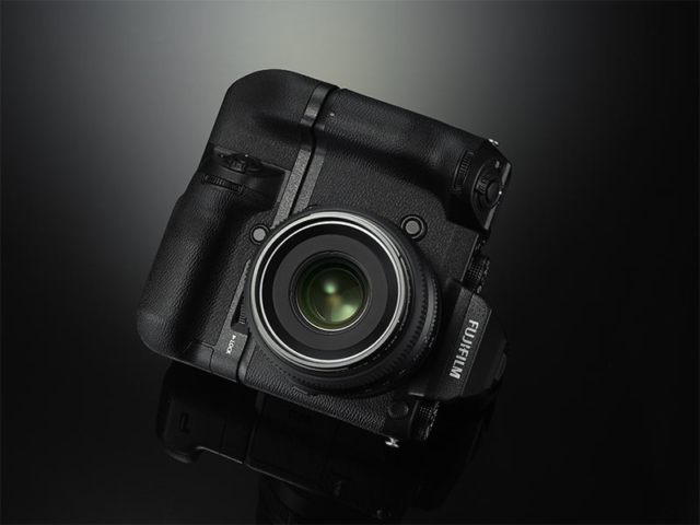 Fujifilm GFX 50S - Front with Grip