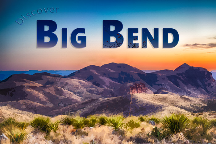 Big Bend Postcard No. 1