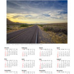 Introducing Calendars for 2017 No 1