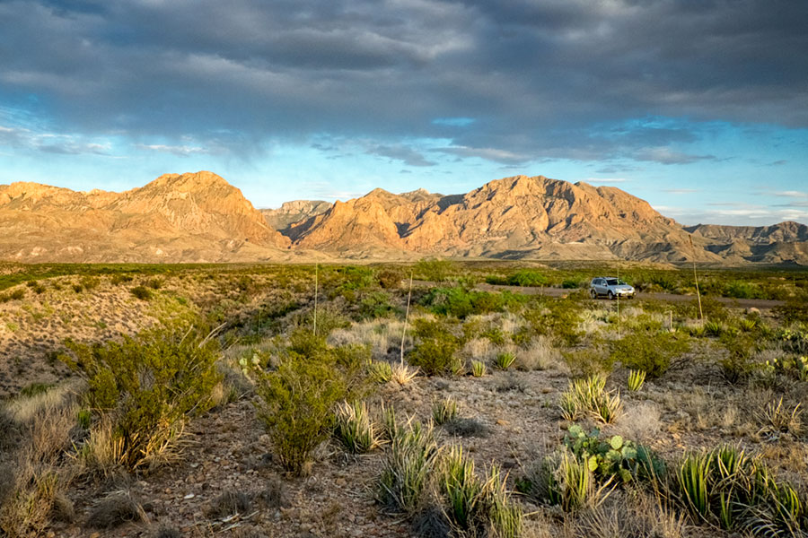 Chisos in Golden Light